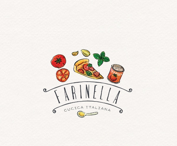 Restaurant Pizza Logo Design