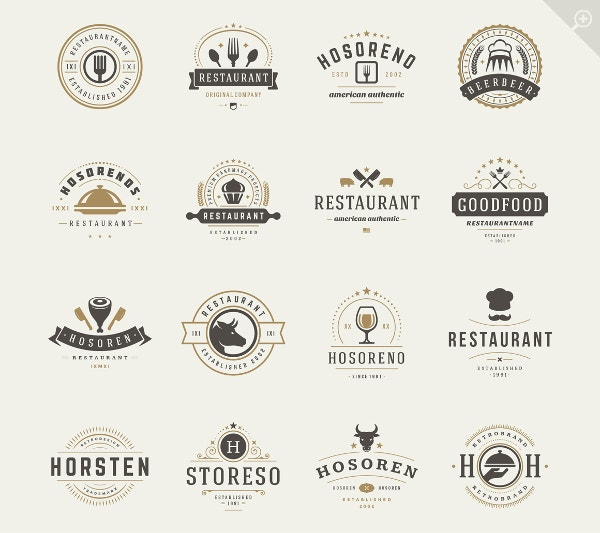 Restaurant Logotypes Design