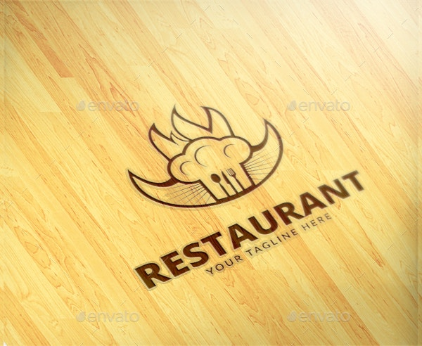 editable-restaurant-logo-template