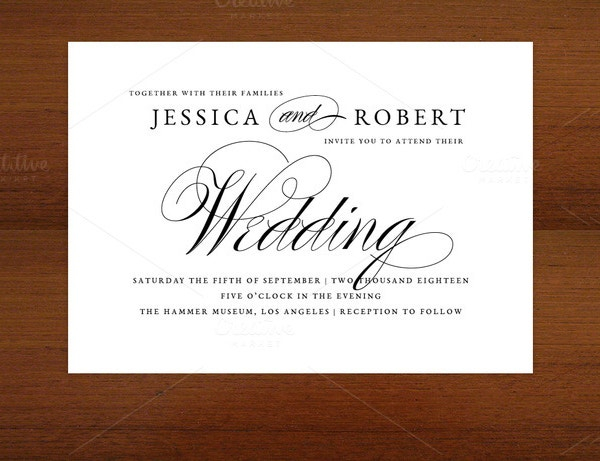 25  wedding invitation templates