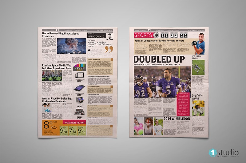 broadsheet-newspaper-template