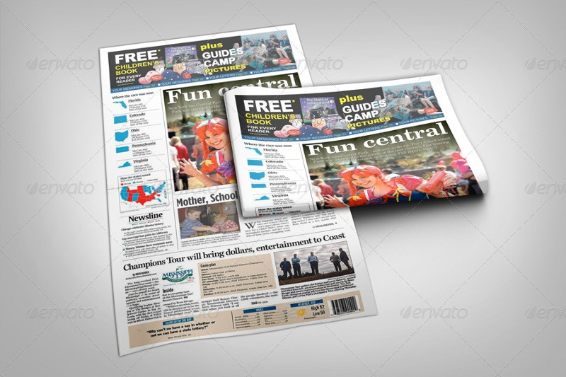 newspaper-layout-mockup