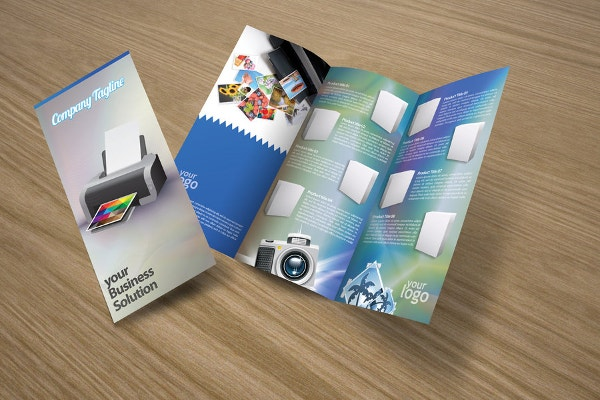 3 Fold Product Brochure
