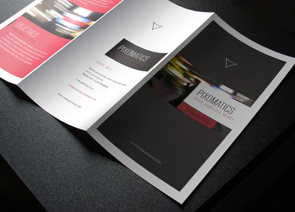 Unique Tri Fold Brochure Template
