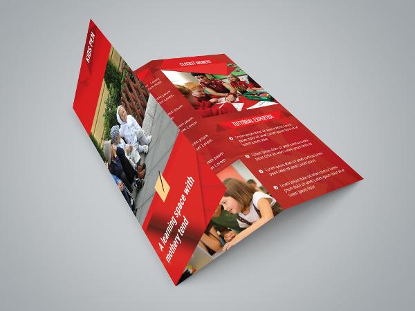 Kids Class Room Tri Fold Brochure