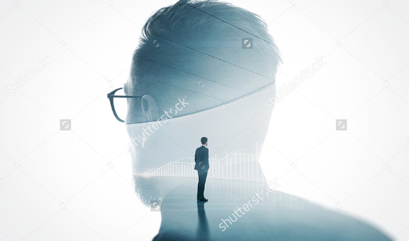 modern-bearded-man-double-exposure