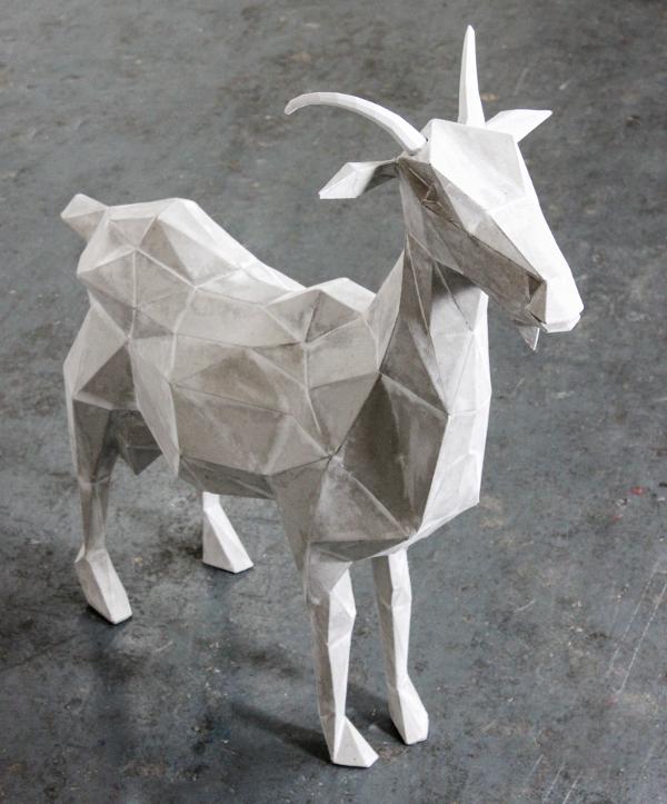 Goat Paper Art