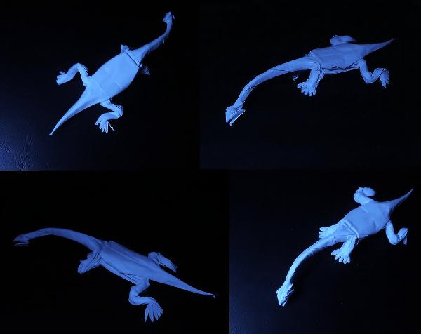 Lizard Paper Art