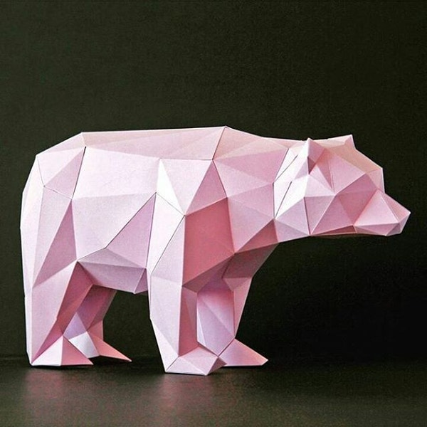Bear Paper Art