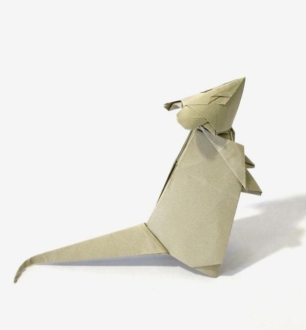 Mouse Paper Art