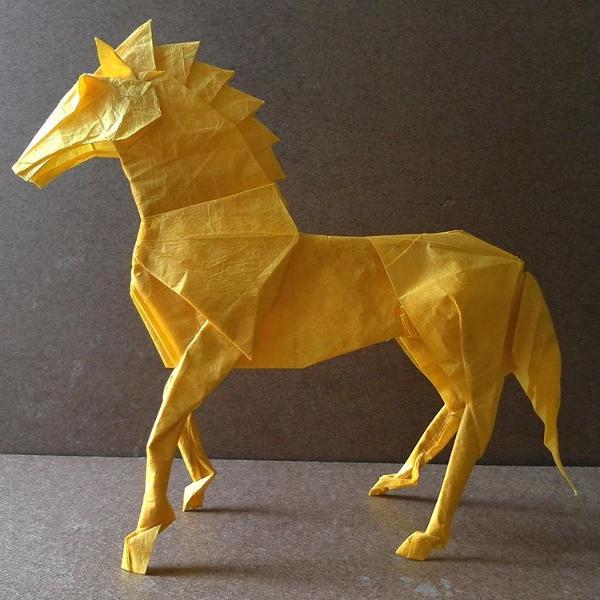 Horse Paper Art