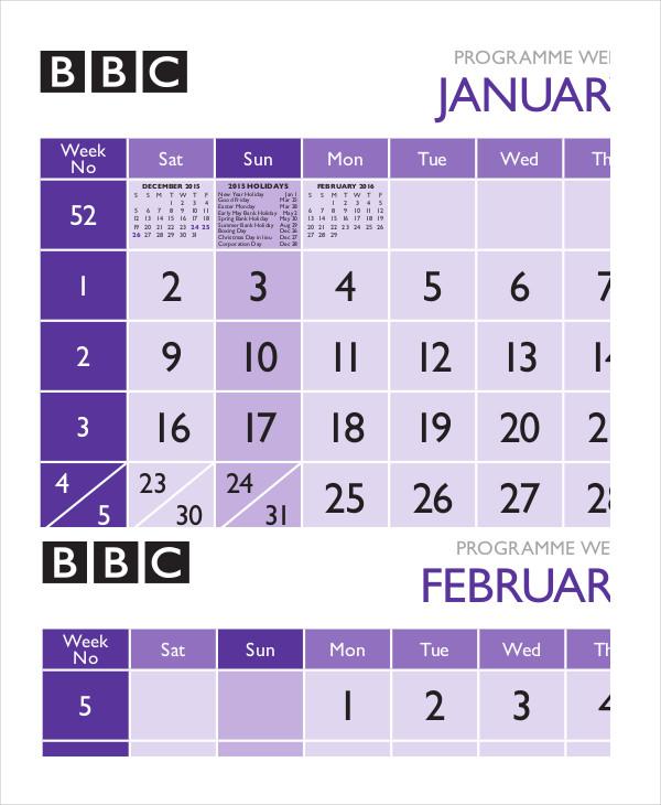 programme-week-calendar