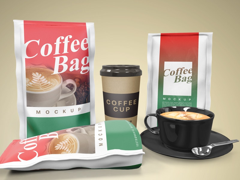 Beverage Coffee Bag Packaging Product