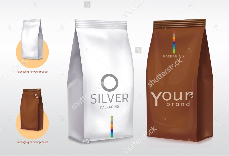 silver-brown-coffee-packaging-bag