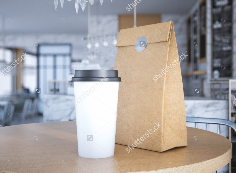coffee-cup-coffee-bag-on-table