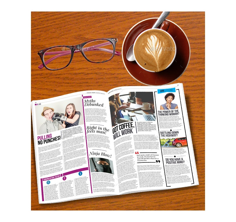 newspaper-layout-template