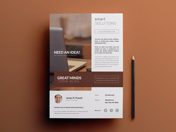 Minimal Business Multi use Flyer