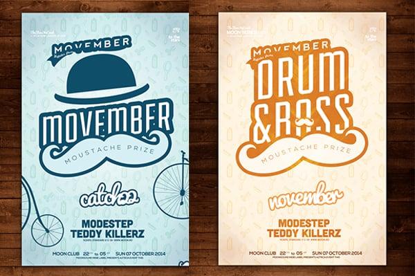 elegant-movember-poster