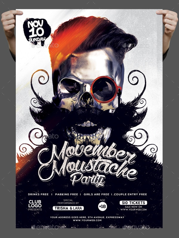 old-movember-mustaches-poster