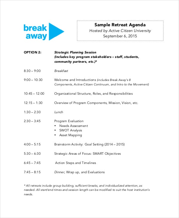 sample-retreat-agenda-template