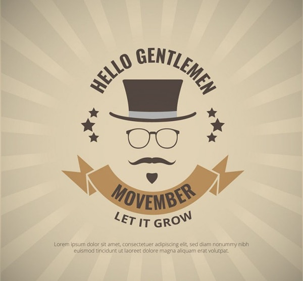 19  movember poster designs