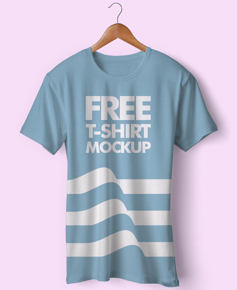 branding free t shirt mockup psd