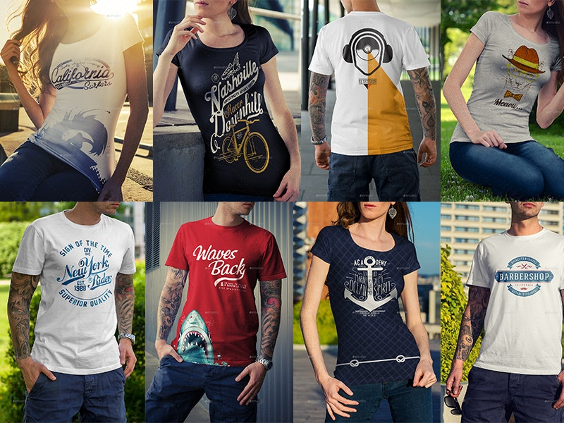 free-download-t-shirt-mock-up-collection