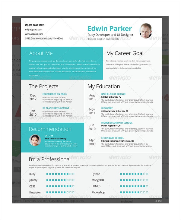 impressive-high-school-student-resume