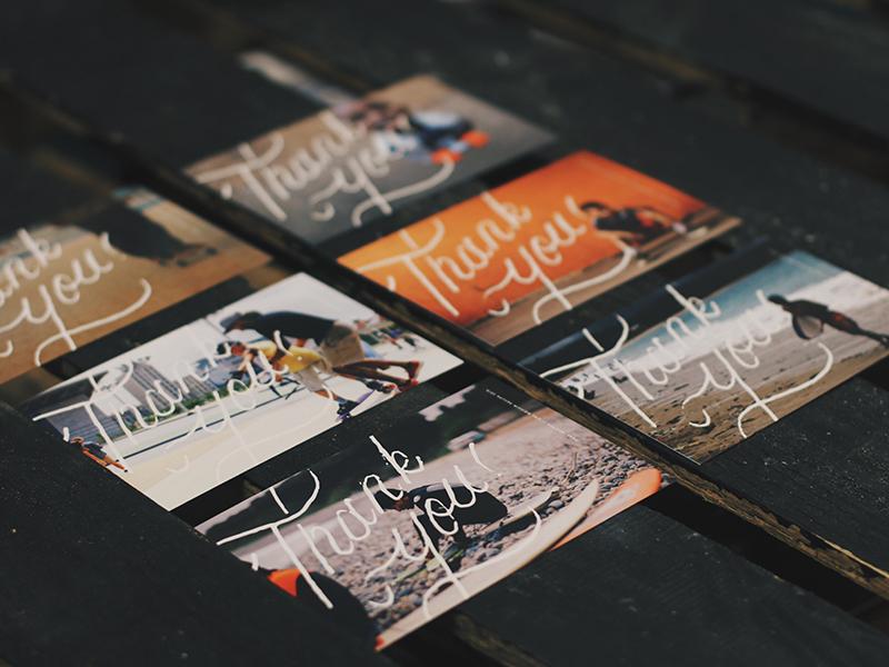 beautiful post card design
