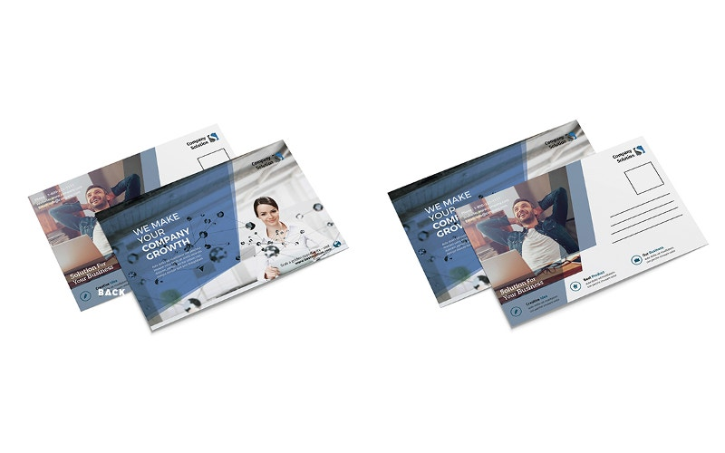 branding business postcard