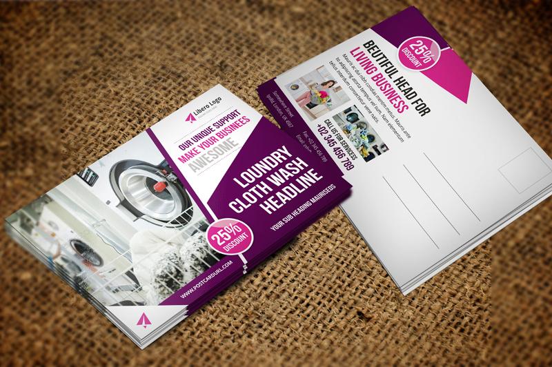 automobile postcard design