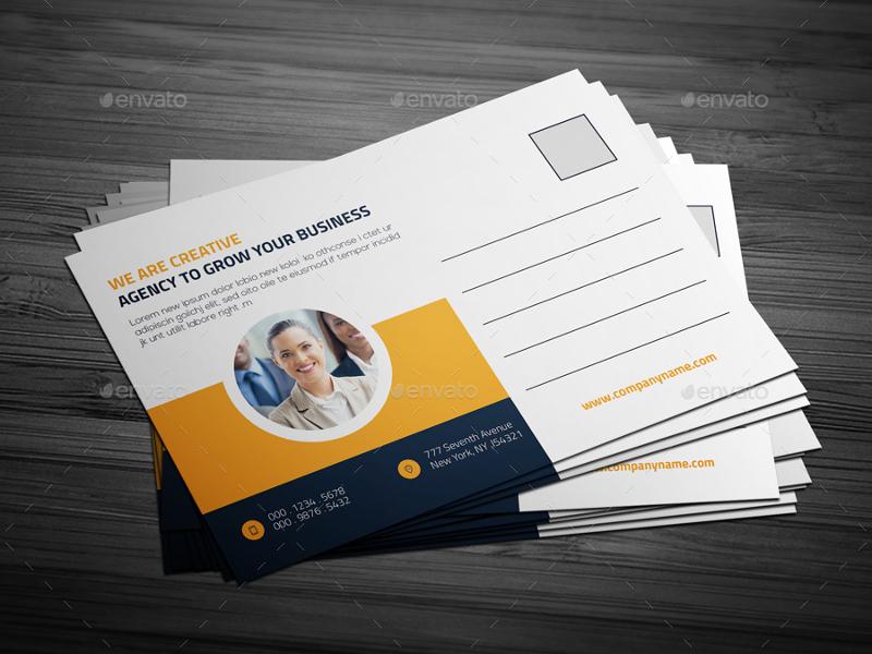 multipurpose post card template