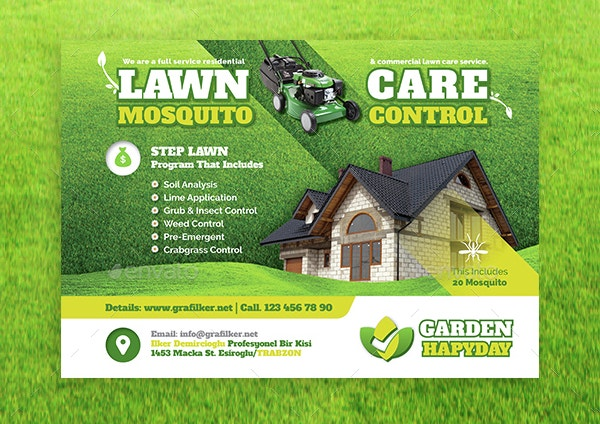 16+ Landscaping Flyers - Free PSD AI EPS Document Download | Free U0026 Premium Templates