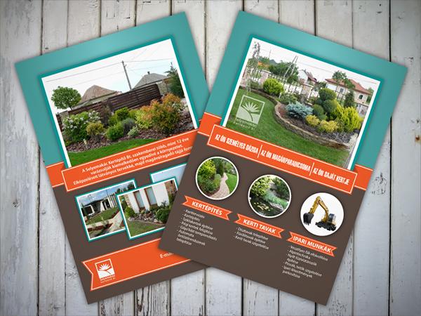 Landscape Gardener Flyer
