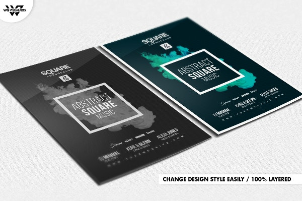Abstract Minimal Flyer Template