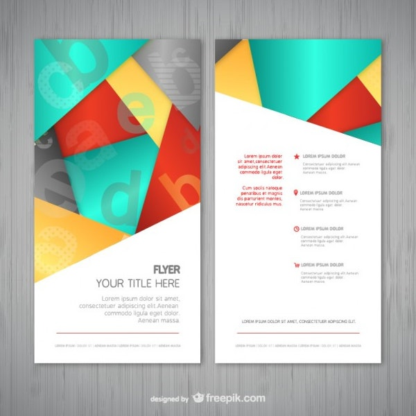 22 Abstract Flyers Free Psd Document Download Free Premium