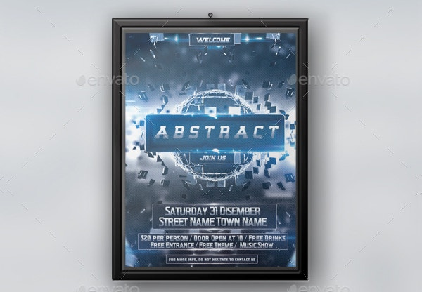 Galaxy Abstract Flyer