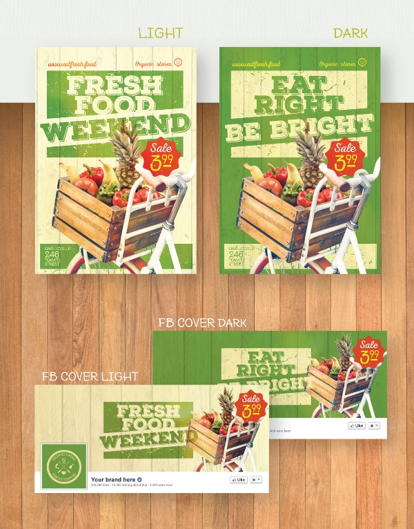 Grocery Food Flyer