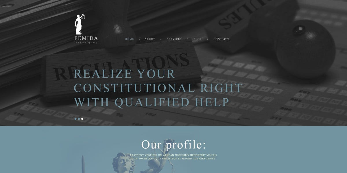 17 law firm website themes templates free premium templates