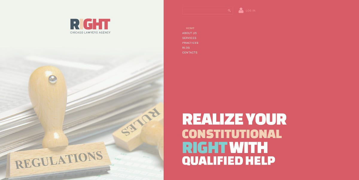 Law Firm Joomla Website Theme $75
