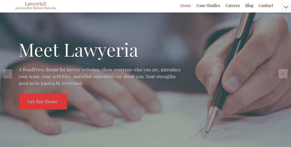 Premium Attorney WordPress Website Template $67