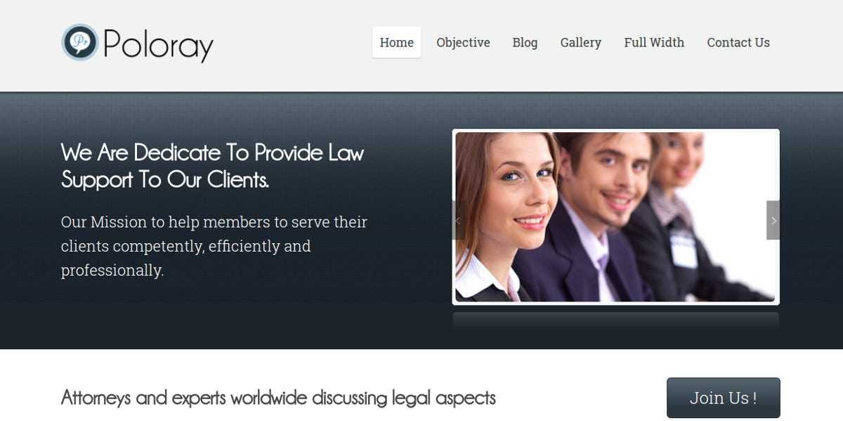 Lawyer Law Firm WordPress Website Theme $59