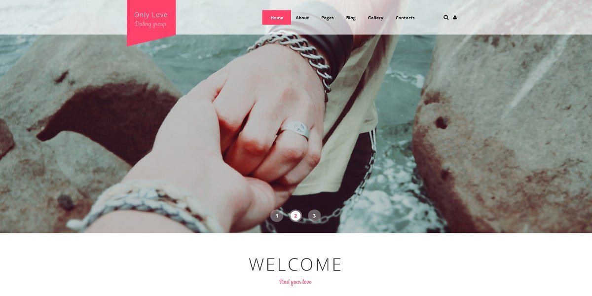 Wedding Planner Scrolling Joomla Website Template $75
