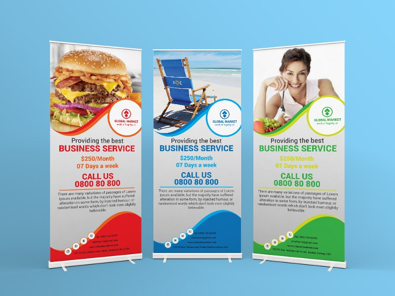 customize global mark business roll up