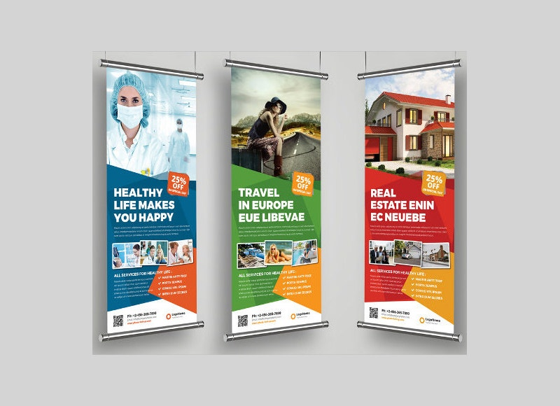 28 Roll Up Banner Designs Free amp Premium Templates