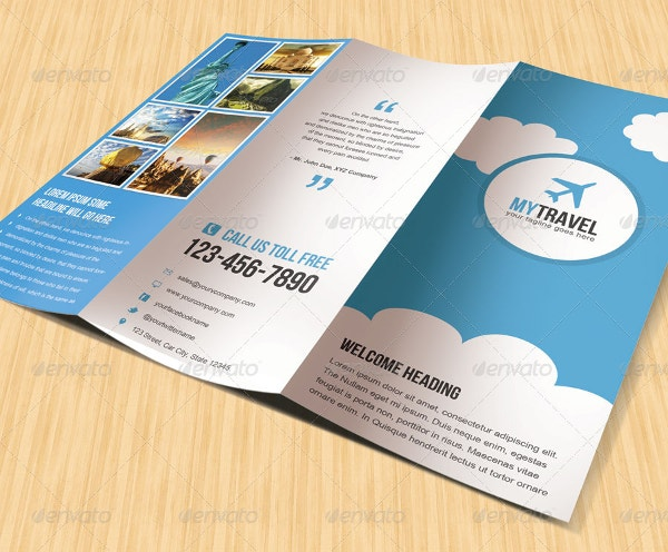 Corporate Travel Brochure