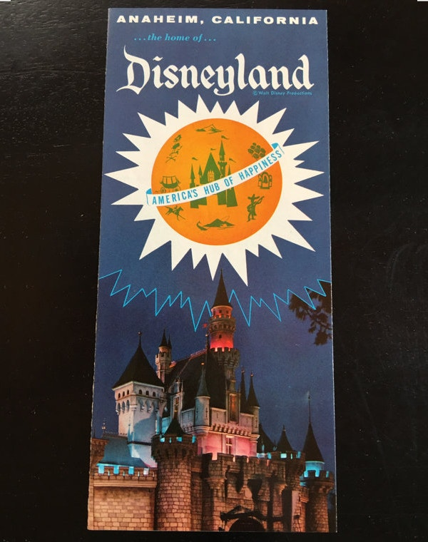 Disneyland Travel Brochure