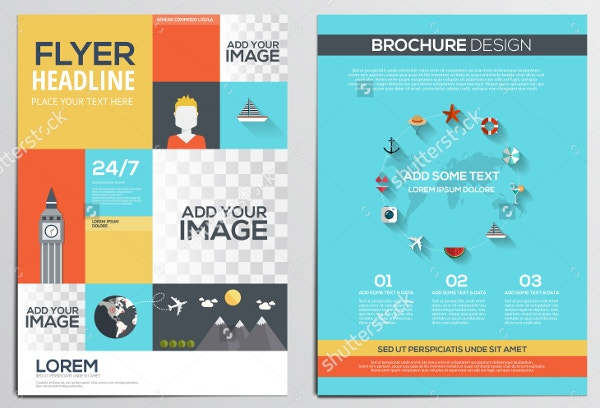 Vector Travel Brochure Template