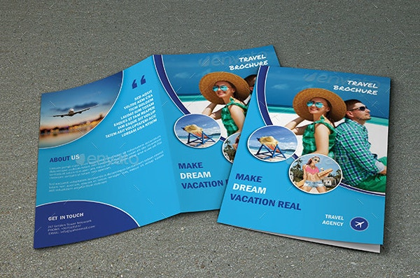 travel tour brochure template