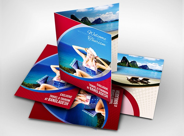 Travel or Corporate Brochure Template